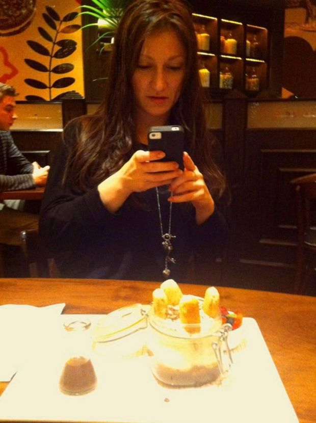 food-selfie