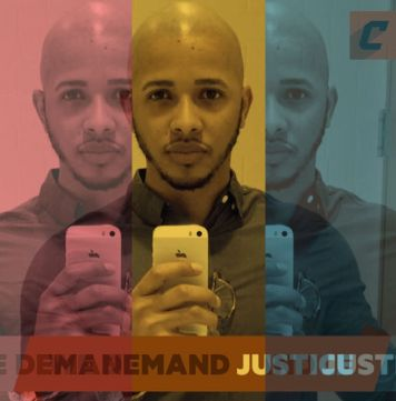 We Demand Justice, photographer: Hector Paulino, model: Hector Paulino